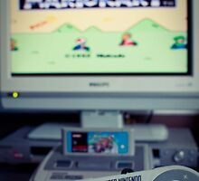 Mario Kart on Super Nintendo by thommoore