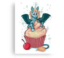 Cupcake Unicorn Canvas Print