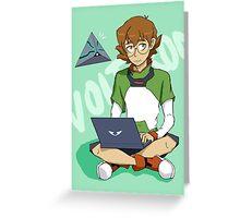 Pidge Gunderson Greeting Card