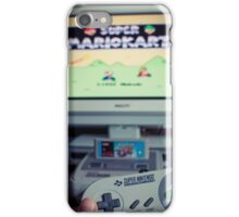 Mario Kart on Super Nintendo iPhone Case/Skin