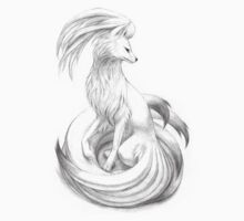 Ninetales - original illustration by rockyhammer