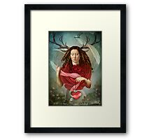 Unwrapped Framed Print