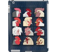 Rooster Face iPad Case/Skin