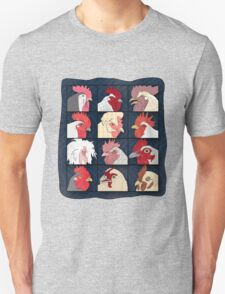 Rooster Face Unisex T-Shirt