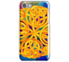 Celtic knotted iPhone Case/Skin