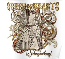 Queen of Hearts Carnivale Style - Gold Version Poster