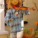 Village Scarecrow ... by Mike  Waldron
