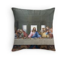 The Last Supper by Leonardo da Vinci Throw Pillow