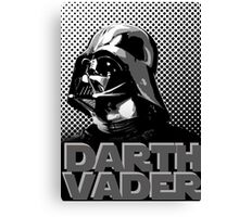 Star Wars Darth Vader screenprint - Mono Canvas Print