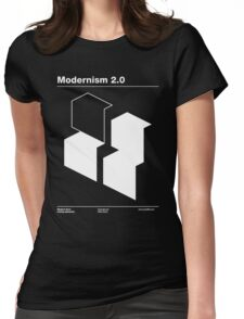 Modernism 2.0 Womens Fitted T-Shirt