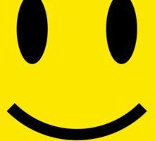 Metal Smiley Sticker