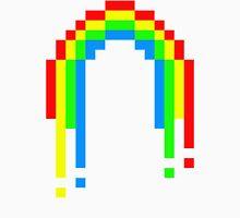 8 Bit Rainbow Unisex T-Shirt