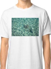 Dreaming of a Seaside Vacation - Crystal Clear Mediterranean Sunshine Classic T-Shirt