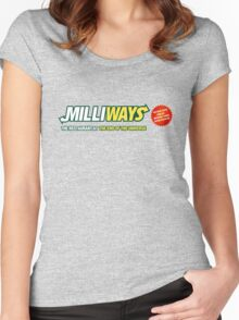 Milliways - Restaurant at the End of the Universe Women's Fitted Scoop T-Shirt