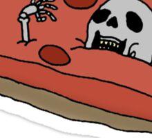 pizza cemetery Sticker