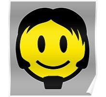 Rock Smiley Poster