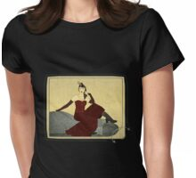 Steampunk Chic Womens Fitted T-Shirt