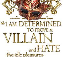 Shakespeare Richard III Villain Quote by Sally McLean