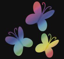 MLP - Cutie Mark Rainbow Special - Fluttershy V3 Kids Tee