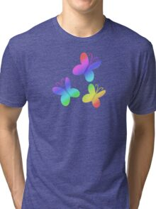 MLP - Cutie Mark Rainbow Special - Fluttershy V3 Tri-blend T-Shirt