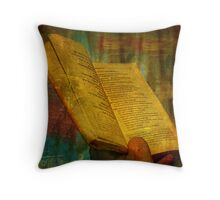 The Prayer: And with these words, I do promise Throw Pillow