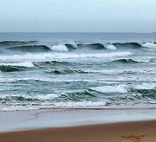Marcoola Beach  by Nicole Barnes