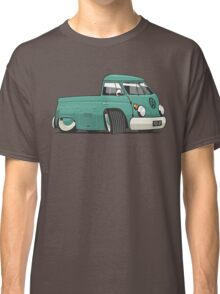 VW T1 pick-up cartoon green Classic T-Shirt