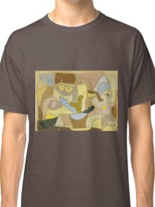 Paul Klee - True Also For Plants. Abstract painting: abstract art, geometric, expressionism, composition, lines, forms, creative fusion, spot, shape, illusion, fantasy future Classic T-Shirt