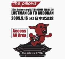 The Pillows Lost Man Go To Budokan by uzilover