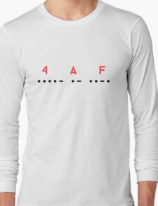 4 Alarm Fire Long Sleeve T-Shirt