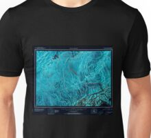 USGS TOPO Map Alaska AK Mount McKinley 361199 1952 250000 Inverted Unisex T-Shirt