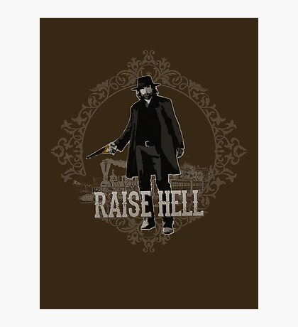 Raise Hell on Union Pacific Photographic Print