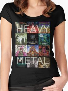 Heavy Metal Women's Fitted Scoop T-Shirt