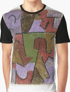 Paul Klee - Indianisch. Abstract painting: abstract art, geometric, expressionism, composition, lines, forms, creative fusion, spot, shape, illusion, fantasy future Graphic T-Shirt