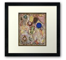Paul Klee - Magic Garden. Abstract painting: abstract art, geometric, Garden, Magic , lines, forms, creative fusion, spot, shape, illusion, fantasy future Framed Print