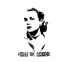 Full of Grace - Ode to Kelly Photographic Print