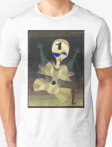 Paul Klee - Runner At The Goal. Abstract painting: abstract art, geometric, Runner , composition, lines, forms, creative fusion, spot, shape, illusion, fantasy future Unisex T-Shirt