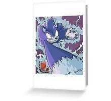 Werehog Sonic Greeting Card