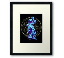 Lady of the Light Framed Print