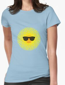 Sun shades Womens Fitted T-Shirt