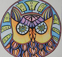 Owl Graphic by tooty-mohr