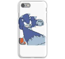 Werehog Sonic Flat (Transparent) iPhone Case/Skin