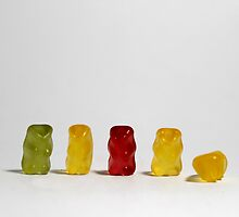 Gummy Bears by MyBlueLight