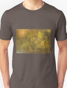 Paul Klee - Small Village In The Autumn Sun. Abstract painting: abstract art, geometric,  Village, Autumn, lines, forms, Sun, spot, shape, illusion, fantasy future Unisex T-Shirt
