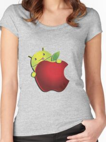 Ultimate AndroidIphone [UltraHD] Women's Fitted Scoop T-Shirt