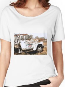 Route 66 Tow Truck Women's Relaxed Fit T-Shirt