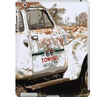 Route 66 Tow Truck iPad Case/Skin