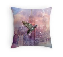 Lights Will Guide You Home (City Lights Series) Throw Pillow