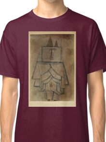 Paul Klee - Torwachterstolz. Abstract painting: abstract art, geometric,  Man , composition, lines, forms, creative fusion, spot, shape, illusion, fantasy future Classic T-Shirt