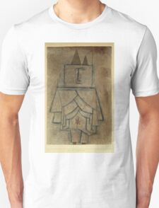 Paul Klee - Torwachterstolz. Abstract painting: abstract art, geometric,  Man , composition, lines, forms, creative fusion, spot, shape, illusion, fantasy future Unisex T-Shirt
